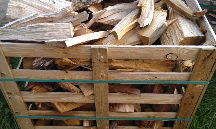 box de bois chute